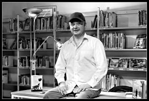 Catalin dorian Florescu bei seiner Lesung in Erfurt am 10.3.2011