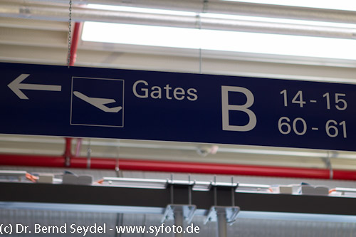 Gates in Frankfurt