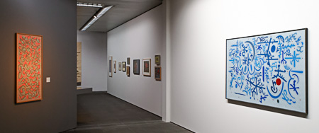 Ausstellung Otto Nebel - Runenbild