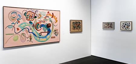 Ausstellung Otto Nebel
