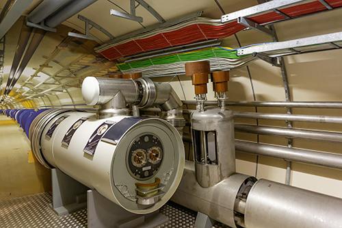 CERN - Modell des Beschleunigerrings